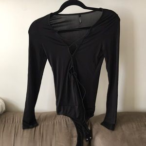 Tops - GoJane black body suit